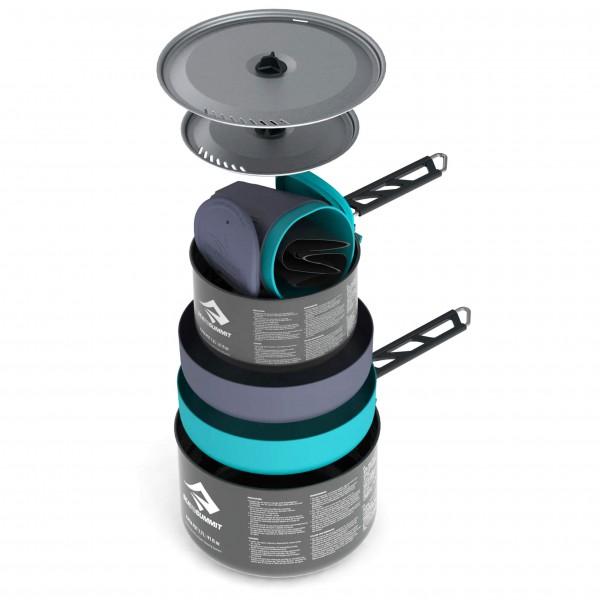 Sea to Summit - Alpha 2 Pot Cook Set 2.2 - Kastrull