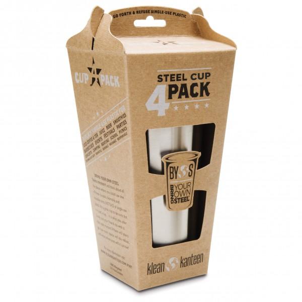 Klean Kanteen - Steel Cup 4 Pack