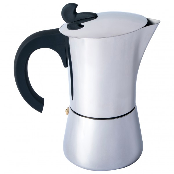 Basic Nature - Espresso Maker Edelstahl - Espresso-Kocher