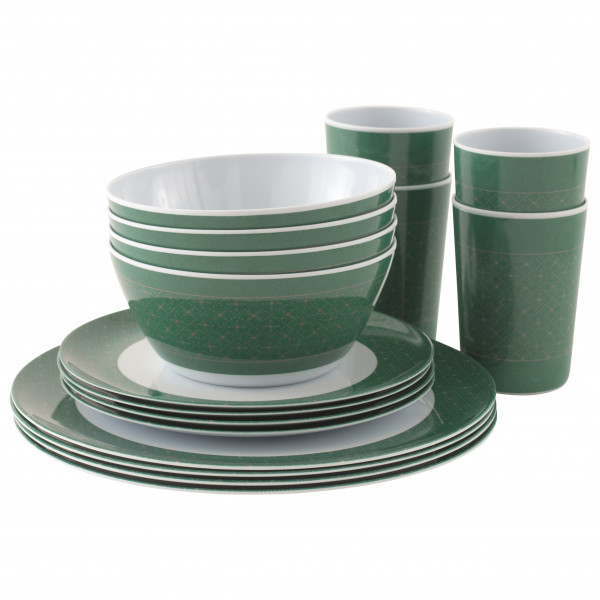 Outwell - Blossom Picnic Set 4 Persons - Porslinsset