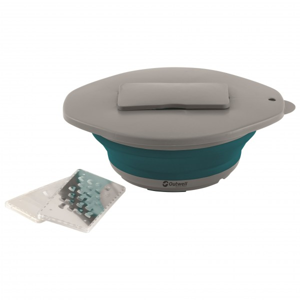 Outwell - Collaps Bowl & Lid with Grater - Kochset