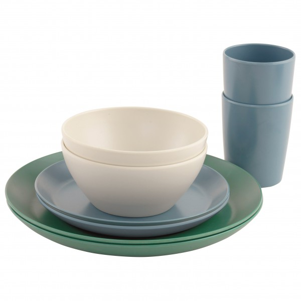 Outwell - Daisy Dinner Set 2 Persons - Set of dishes