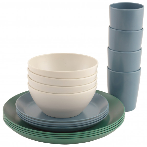 Outwell - Daisy Dinner Set 4 Persons - Astia-setti