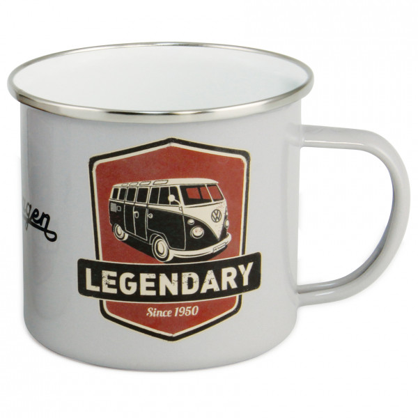 VW Collection - VW T1 Bus Becher Emailliert