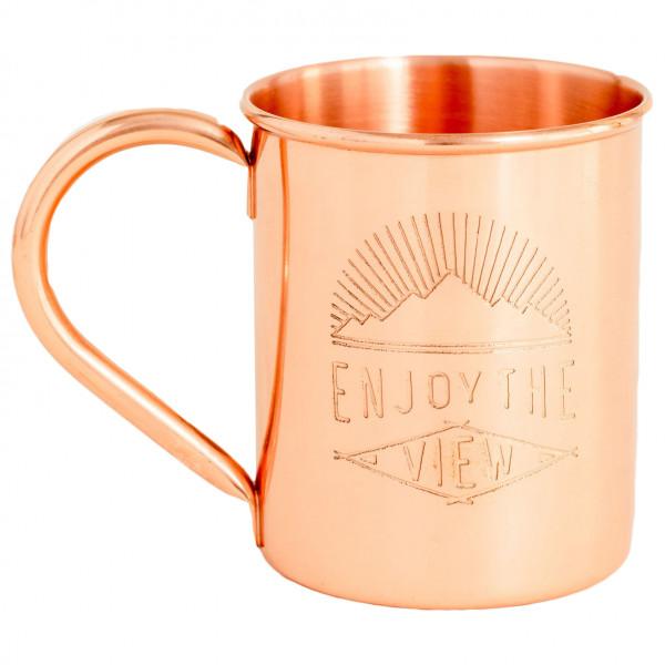 United By Blue - Enjoy The View Copper Mug - Krus