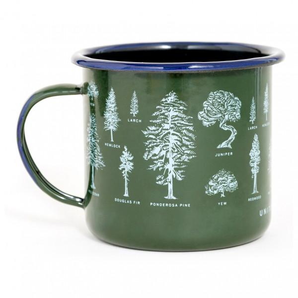 United By Blue - Evergreen Enamel Steel Mug - Beker