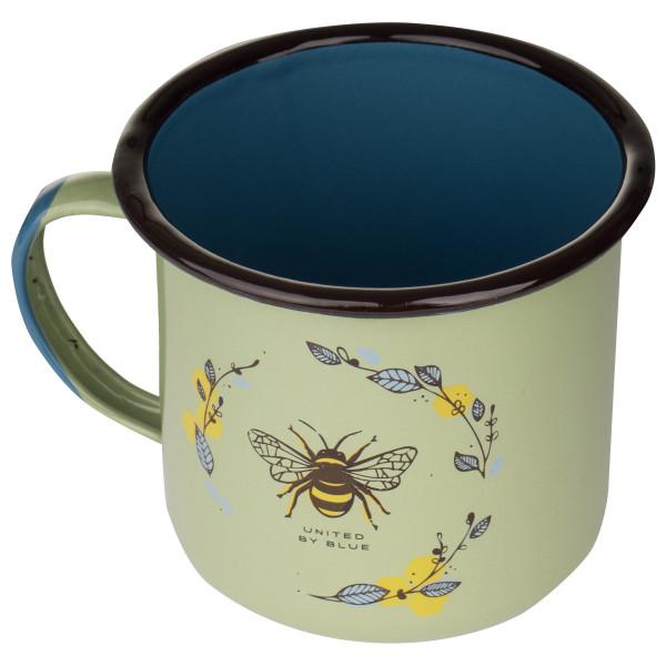 United By Blue - Honey Bee Enamel Steel Mug - Muki