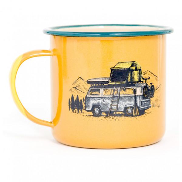 United By Blue - Pack Up & Go Enamel Steel Mug - Beker