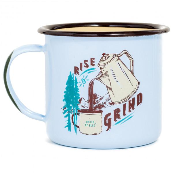 United By Blue - Rise & Grind Enamel Steel Mug - Becher