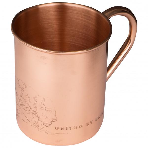 United By Blue - Where The Buffalo Roam Copper Mug - Beker