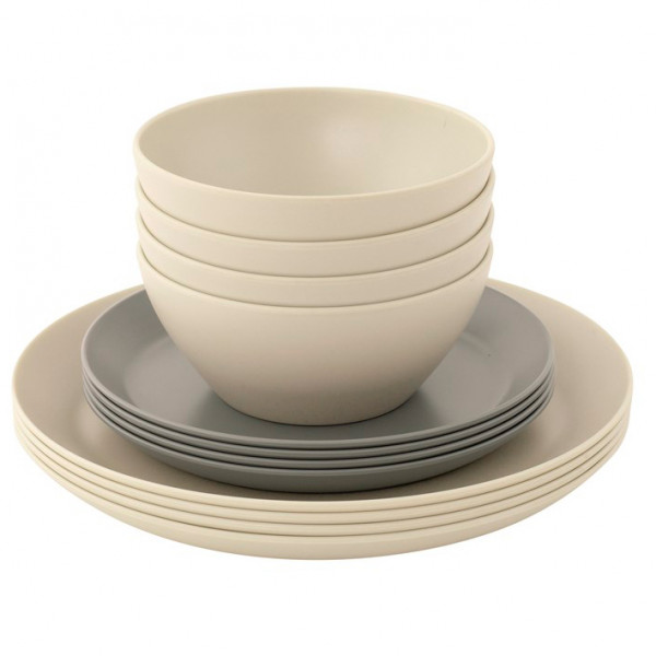 Outwell - Lily 4 Person Dinner Set - Set of dishes