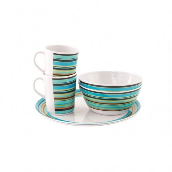 Easy Camp - Java Melamine Set 2 Persons - Set of dishes