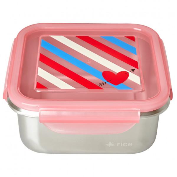 Rice - Stainless Steel Square Lunchbox - Essensaufbewahrung