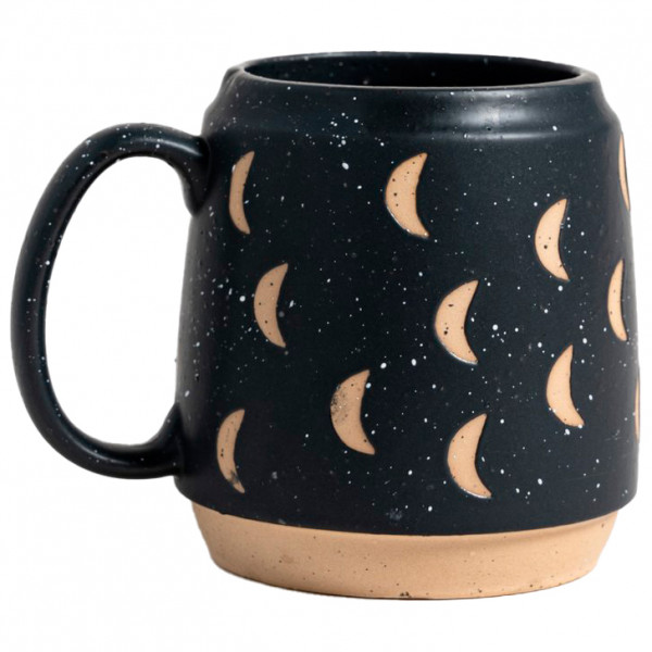 United By Blue - Crescent Moon Potters Mug - Becher