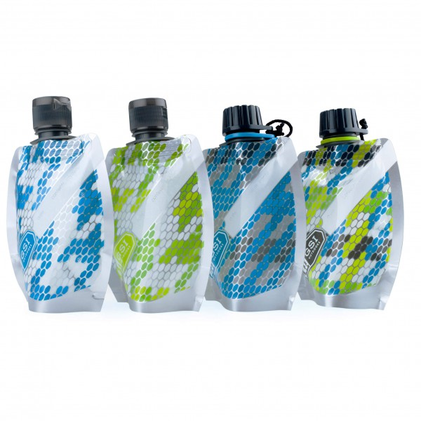 GSI - Kokoontaittuva pullosarja Travel Bottle Set