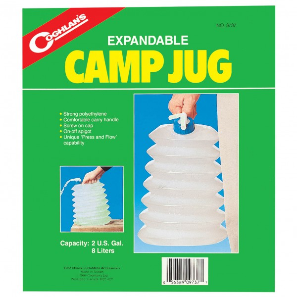 Coghlans - Opvouwbare jerrycan Camp Jug - Waterdrager