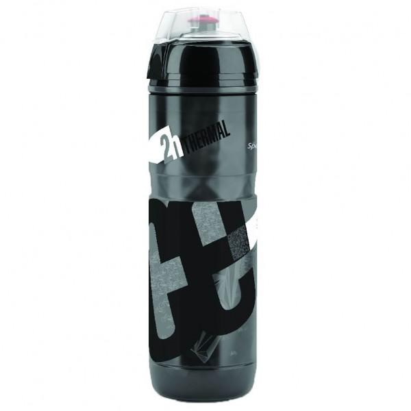 Elite - Thermoflasche Iceberg Logo Schwarz