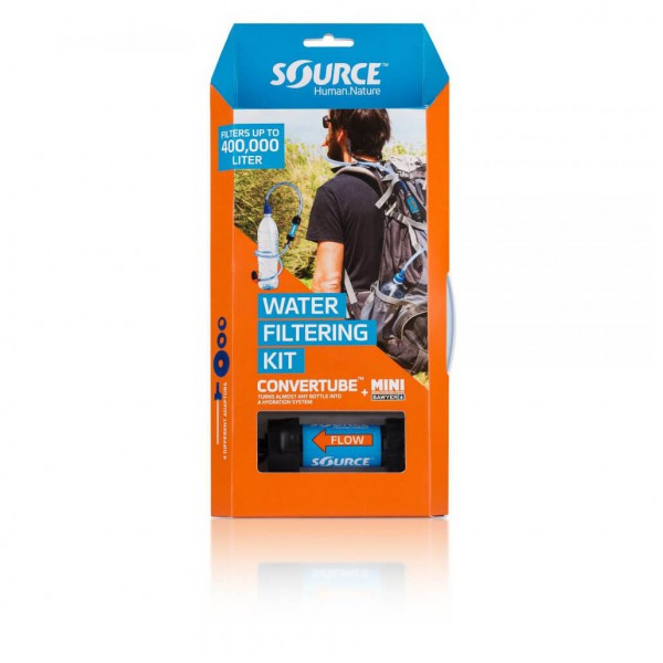 Source - Convertube + Sawyer Filter - Hydration system