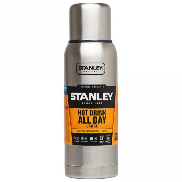 Stanley - Adventure Vacuum Bottle Brushed - Eristetty pullo