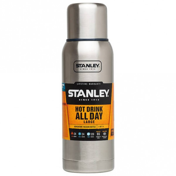 Stanley - Adventure Vacuum Bottle Brushed - Termospullo