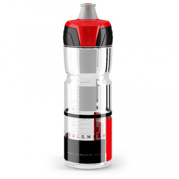 Elite - Flasche Crystal Ombra Clear - Fietsdrinkflessen