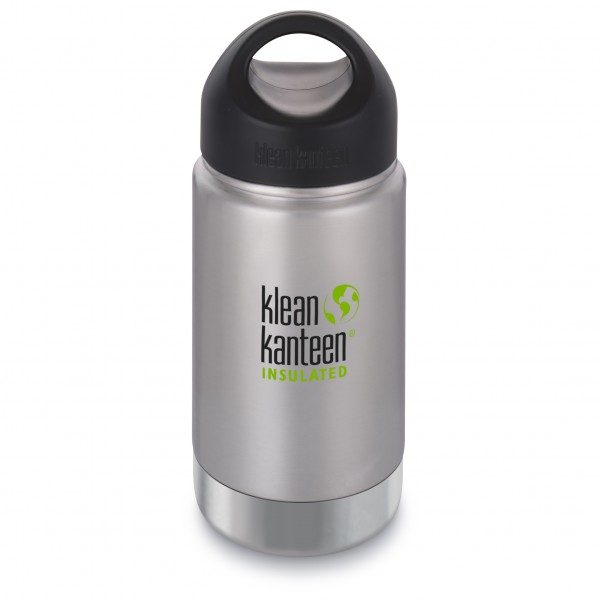 Klean Kanteen - Wide Vacuum Insulated Brushed - Eristetty pullo