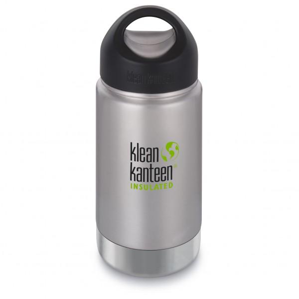 Klean Kanteen - Wide Vacuum Insulated Brushed - Termoflaske