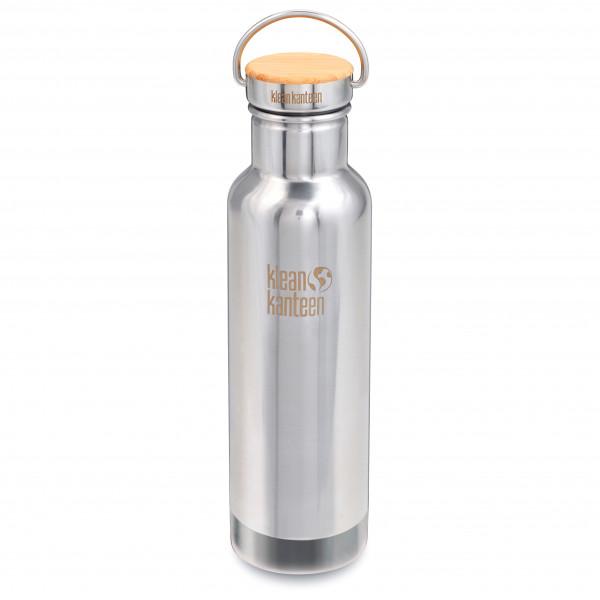 Klean Kanteen - Reflect Vacuum Stainless Bamboo Cap - Eristetty pullo