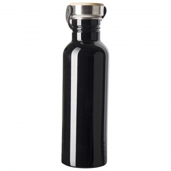 360 Degrees - Stainless Drink Bottle with Bamboo Cap - Juomapullo