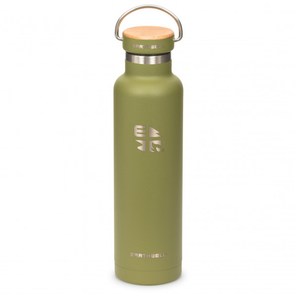 Earthwell - Woodie Maple Cap Iso - Isolierflasche