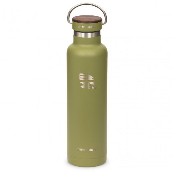 Earthwell - Woodie Walnut Cap Iso - Eristetty pullo
