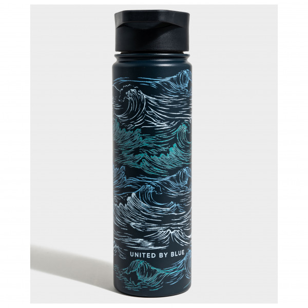 United By Blue - Waves Insulated Steel Bottle - Drinkfles
