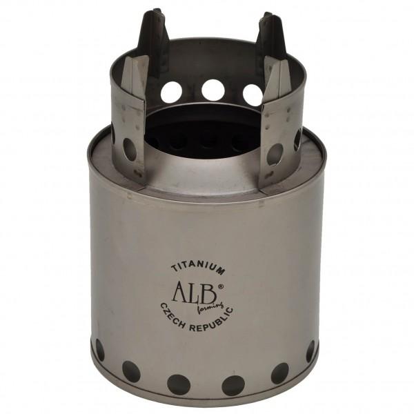 Alb Forming - Titanium Wood Stove - Dry fuel stove