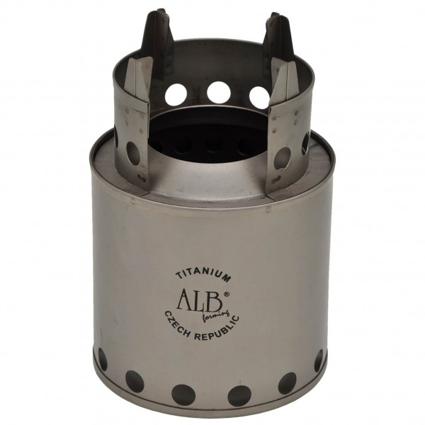 Alb Forming - Titanium Wood Stove - Solid fuel stoves