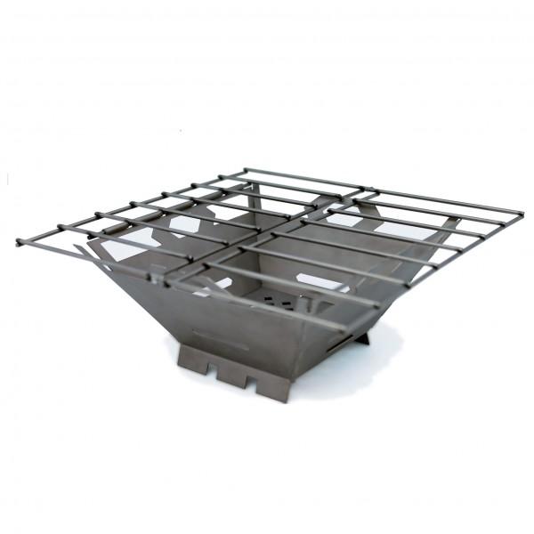 Vargo - Fire Box Grill - Kookstel voor droge brandstoffen
