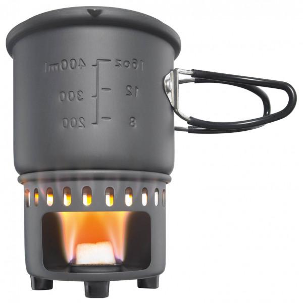 Esbit - Trockenbrennstoff-Kochset - Puukäyttöiset retkikeittimet