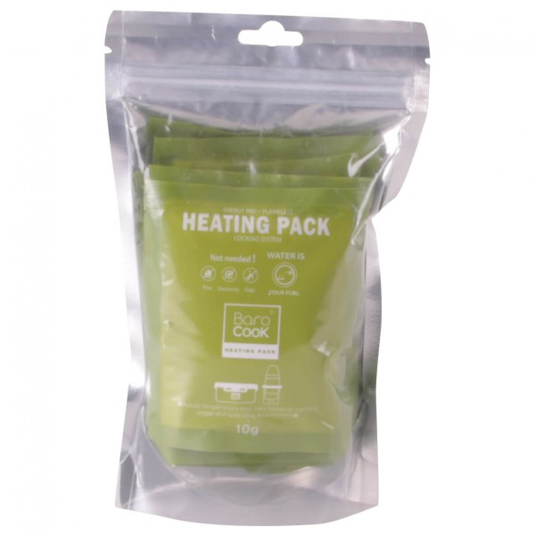 Barocook - Heating Pack - Drogebrandstofkookstel