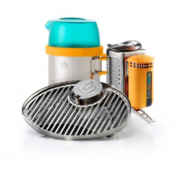 Biolite - CampStove Bundle - Kookstel voor droge brandstoffe