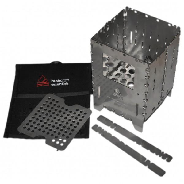 Bushcraft Essentials - Bushbox XL Profi Set - Solid fuel stoves