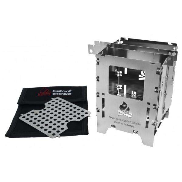 Bushcraft Essentials - Bushbox LF Set - Kogeapparater til tørbrændstof