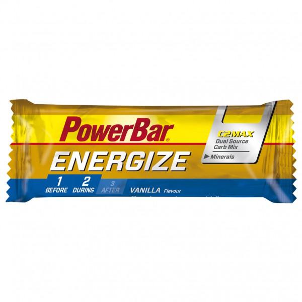 PowerBar - Energize Vanille - Barre énergétique