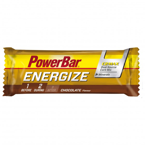 PowerBar - Energize Schokolade - Energiegel