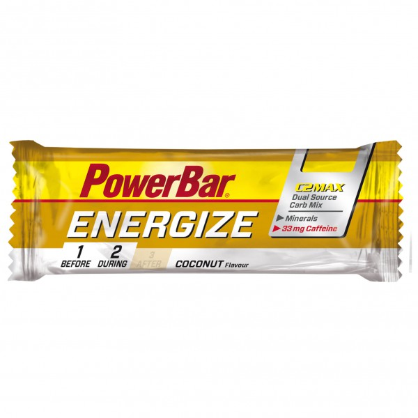 PowerBar - Energize Kokos & Koffein - Energierepen