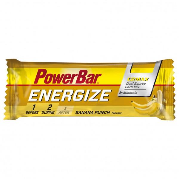 PowerBar - Energize Banana Punch - Barre énergétique