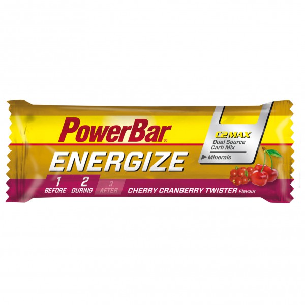 PowerBar - Energize Cherry Cranberry Twister - Energierepen