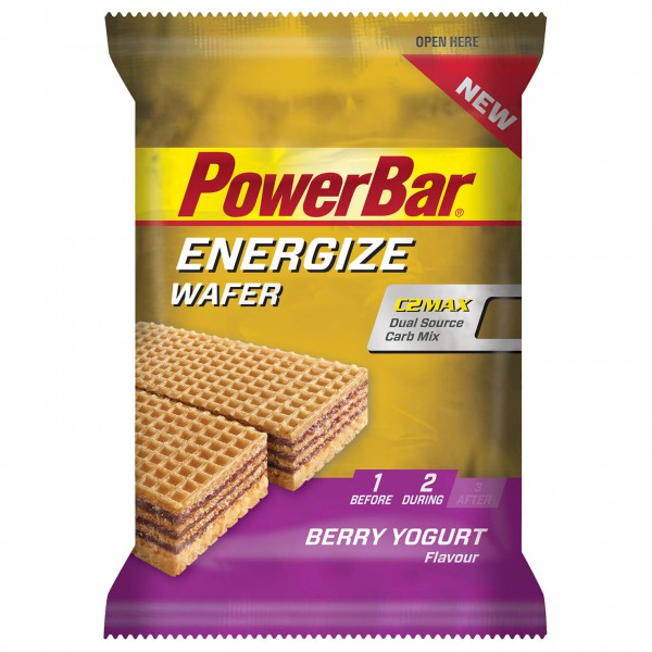 PowerBar - Energize Wafer Berry Yogurt - Energiegel