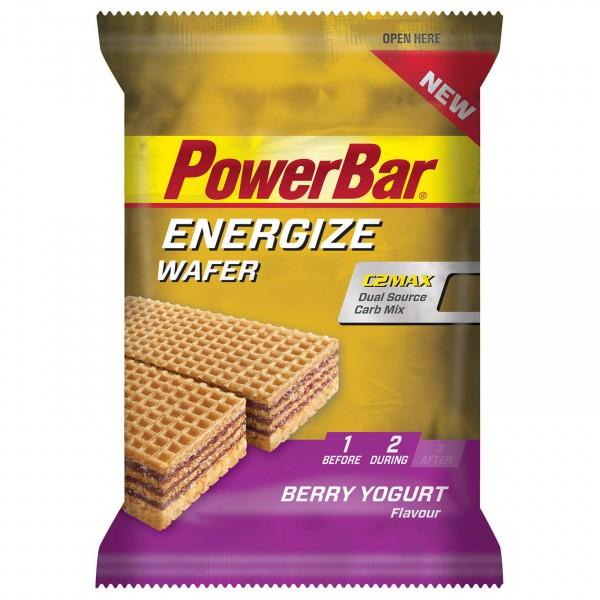 PowerBar - Energize Wafer Berry Yogurt - Energy bars