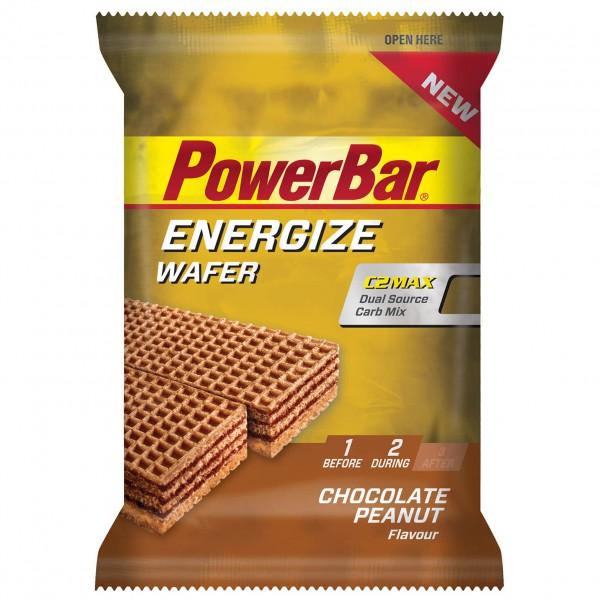 PowerBar - Energize Wafer Chocolate Peanut - Energiegel