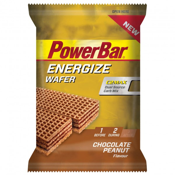 PowerBar - Energize Wafer Chocolate Peanut