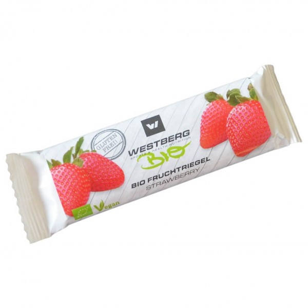 Westberg - Bio Fruchtriegel Strawberry - Energiapatukka